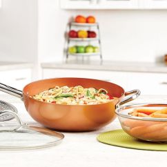 Qvc.com Shopping Kitchen Aldo Cabinet Cookware Qvc Com Fry Pans Skillets