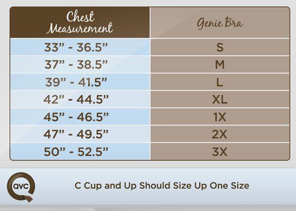 0ddf3ff0f71a9 √ Genie Bra Size Chart