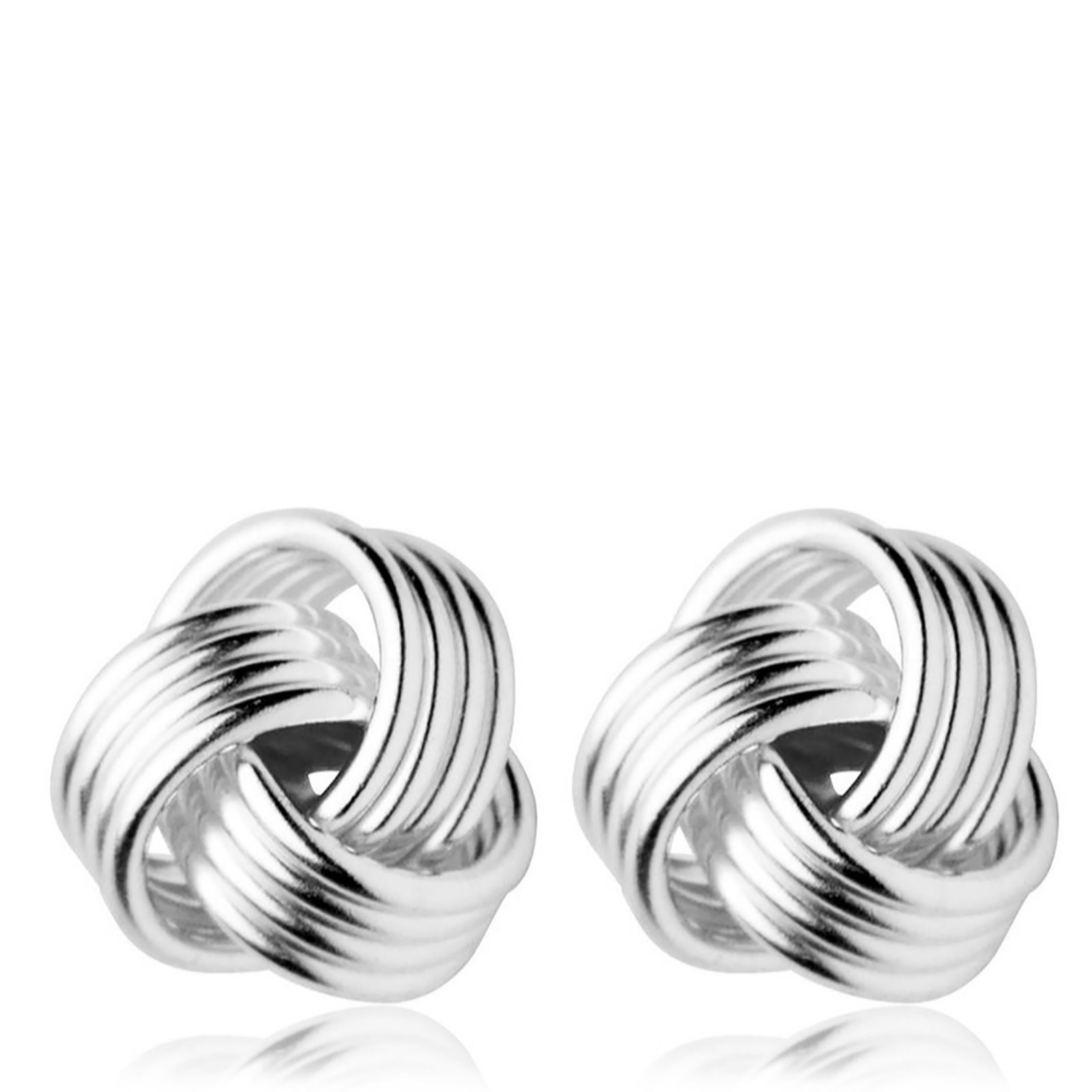 Links of London Essentials Knot Stud Earrings Sterling