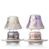 Yankee Candle Set of 2 Smash Mosaic Shades & Trays with