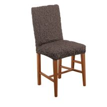 Paulato Textured Stretch Dining Chair Cover - Qvc Uk
