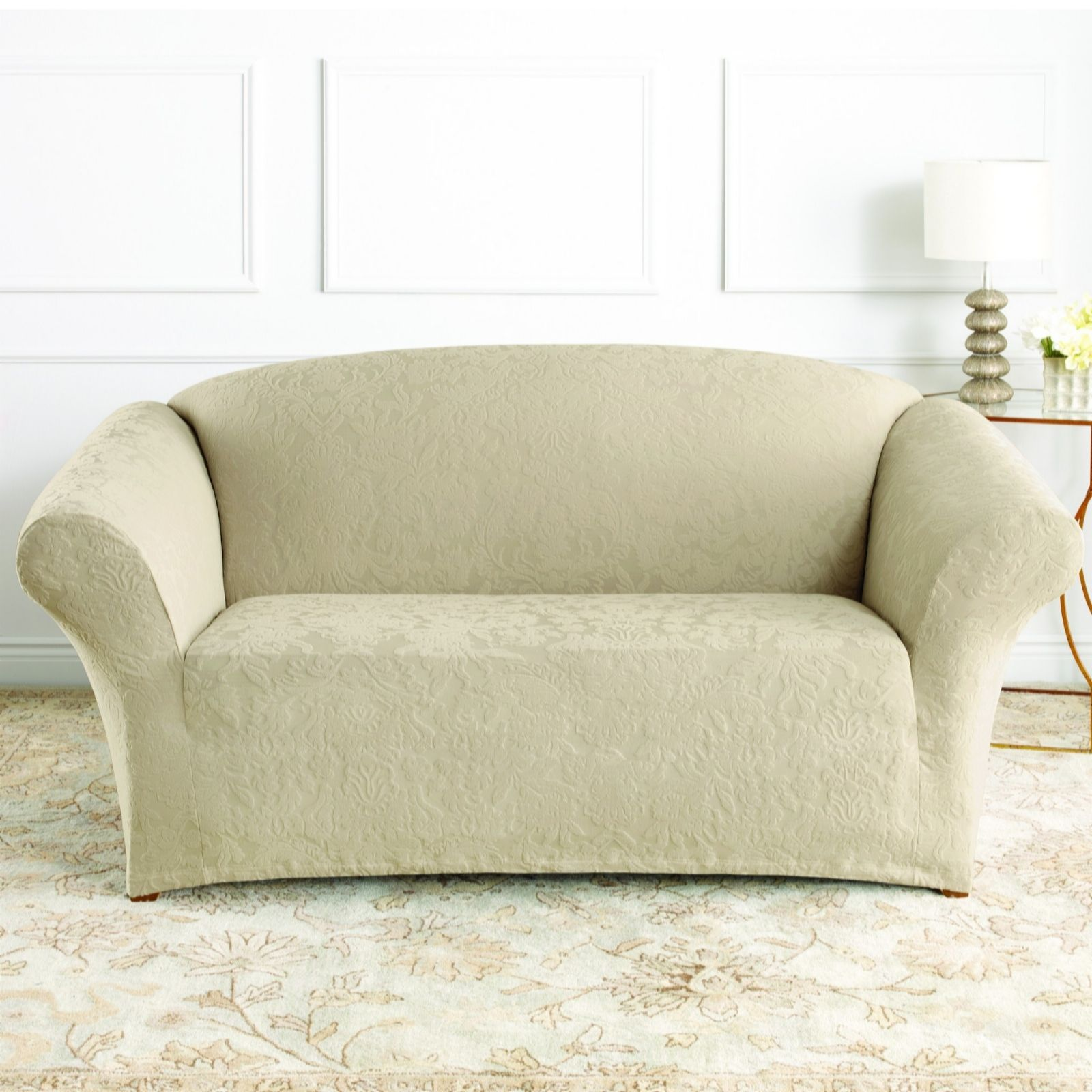 recliner sofa covers uk cream leather gumtree london sure fit stretch review home co