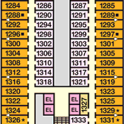 Carnival Cruise Ship Diagram 2005 Ford Explorer Wiring Dream Deck Plans Layout Staterooms Critic Riviera