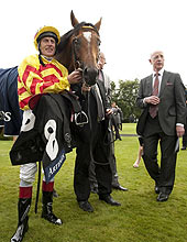 Johnny Murtagh - Saddler's Rock - John Oxx - Goodwood 2012