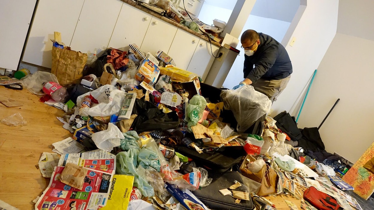 Dchets et insectes dans un logement lou pour aider un sansabri  Ottawa  ICIRadioCanadaca