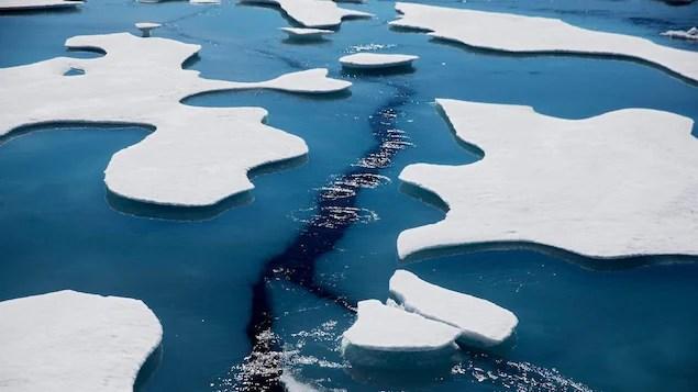 L'eau douce en hausse dans l'océan Arctique