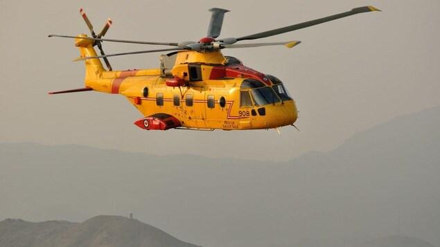 Un mort et deux rescapés après l'écrasement d'un hélicoptère à Terre-Neuve