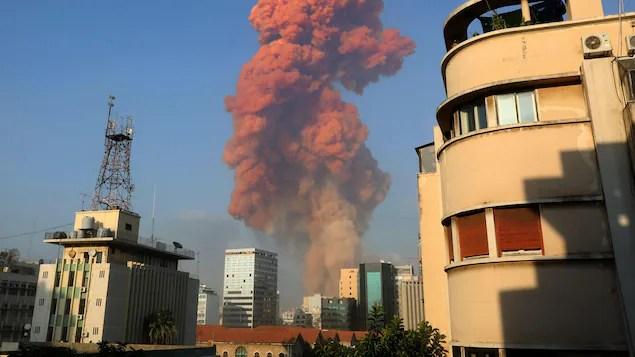 Beyrouth secouée par une forte explosion