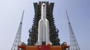Un morceau de fusée chinoise hors de contrôle tombera sur Terre cette fin de semaine