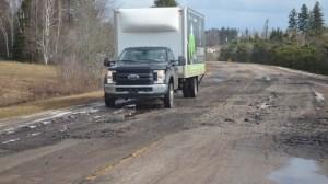 L'Île-du-Prince-Édouard au 2e rang des pires routes au pays