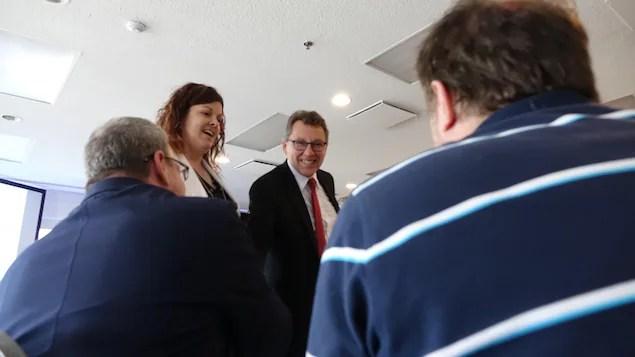 Le ministre affirme que cet appui financier est un gage de confiance envers l'institution rimouskois