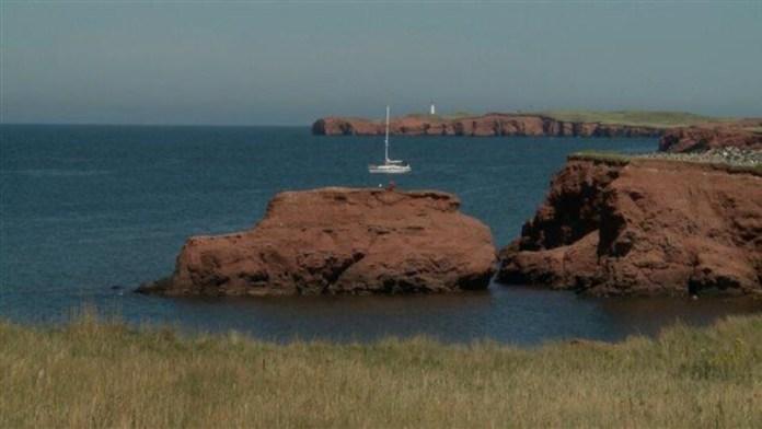 Landscape of Îles-de-la-Madeleine