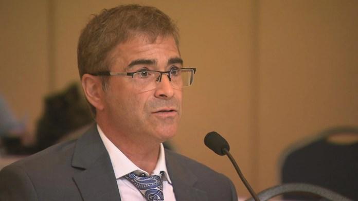 The Director of Public Health of Bas-Saint-Laurent, Dr. Sylvain Leduc.