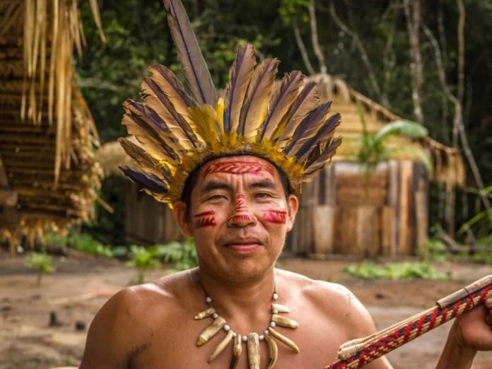 A member of the Dessana tribe.
