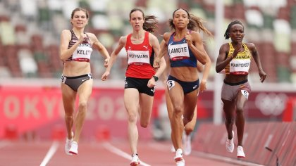 Melissa Bishop-Nriagu eradicated from 800 meters, two Canadians within the semi-finals of 100 meters