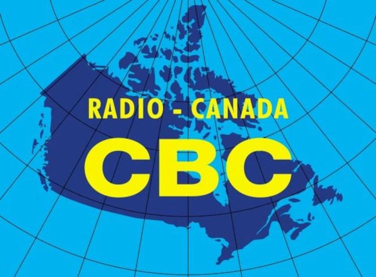 Logo représentant une carte du Canada avec l'inscription CBC et Radio-Canada.
