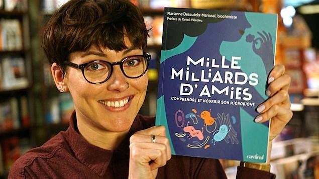 Marianne Desautels-Marissal, auteure, Mille milliards d'amies — Comprendre et nourrir son microbiome