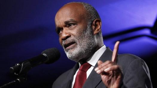 L'ancien chef de l'État haïtien, René Préval