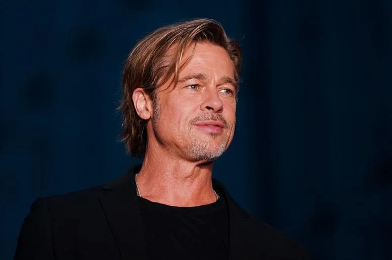 Brad Pitt Reveals What His First Kiss Was Like