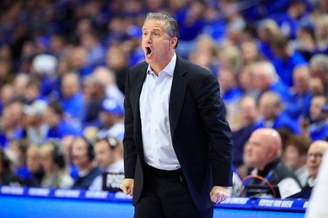 John Calipari is his 11th season as Kentucky's head coach.