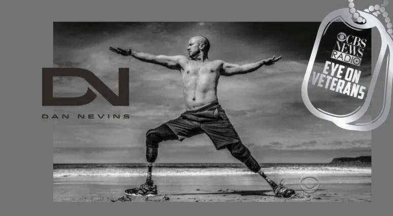 Dan Nevins Yoga Warrior on CBS Eye on Veterans