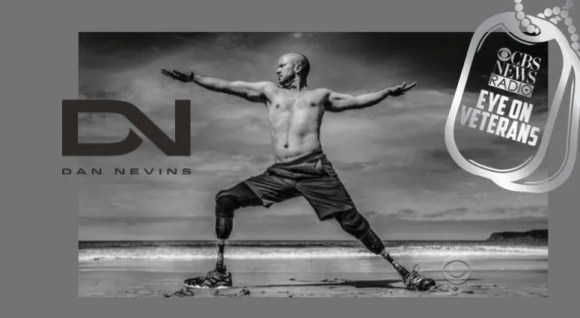 Dan Nevins Yoga Warrior on CBS Eye on Veterans