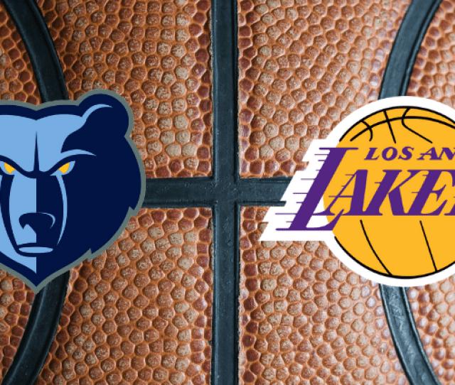 Memphis Grizzlies Vs Los Angeles Lakers Espn   Fm