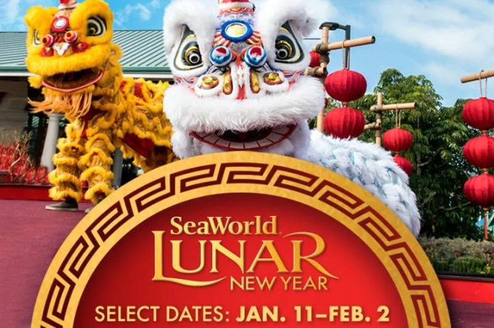Image result for SeaWorld's Lunar New Year Celebration