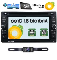 hizpo 6 2 android 8 1 wifi 4g double 2din car radio stereo [ 1000 x 1000 Pixel ]