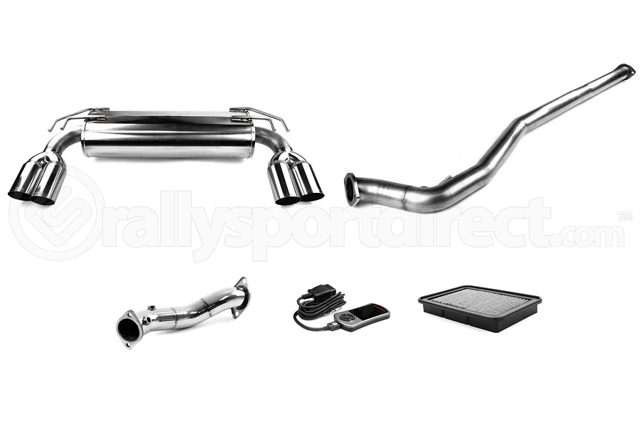 COBB Tuning Stage 2 Power Package with Quad Tip Exhaust