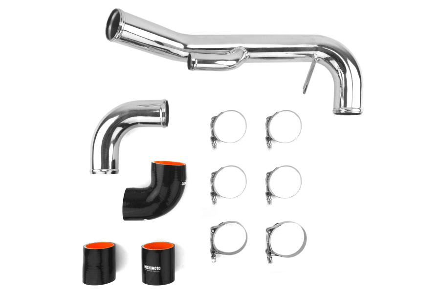 Mishimoto Lower Intercooler Pipe Hard Kit Black