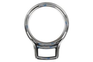 GCS Anodized Aluminum Shifter Plate Trim Bezel Silver