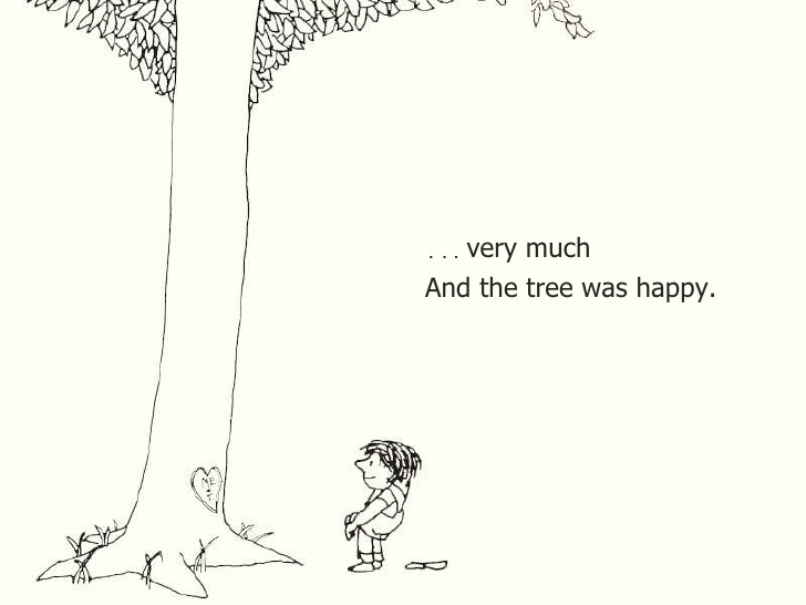 And the tree was happy.