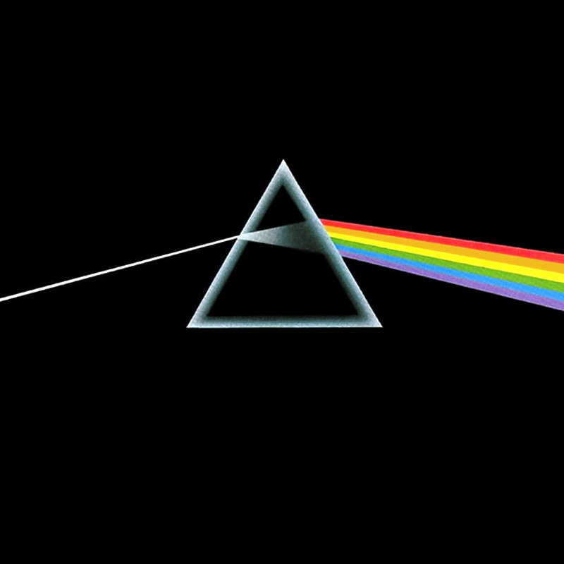 Image result for dark side of the moon album cover