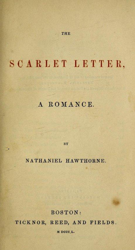 Good scarlet letter essay titles