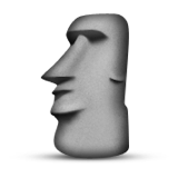 Moyai  List of Emoji Names by Emoji