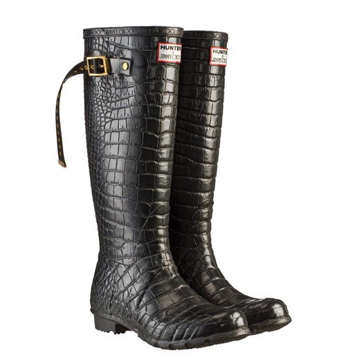 Jimmy Choo's Hunter Boots
