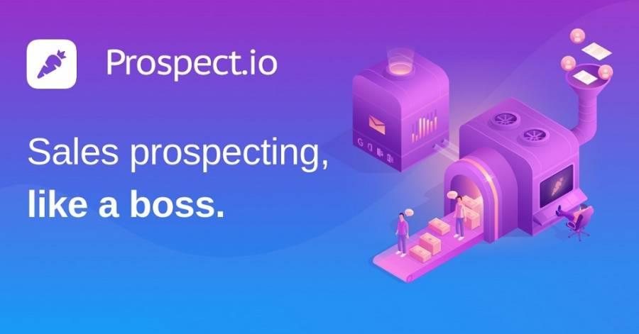 Prospect.io: best online lead generation tools