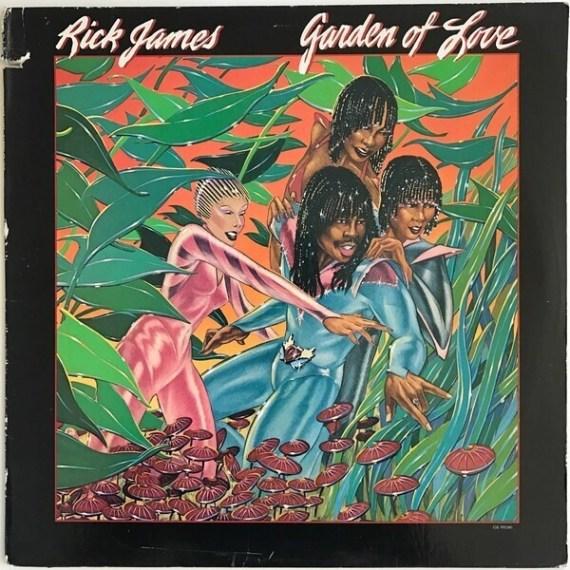 Image result for rick james garden of love