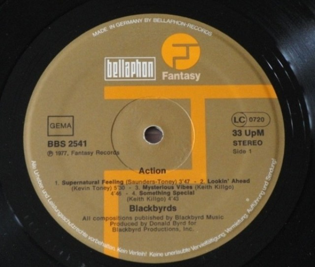 The Blackbyrds Action The Blackbyrds Action