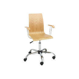 desk chair tesco portable reading best office furniture reviews and prices reevoo padova home with arms oak