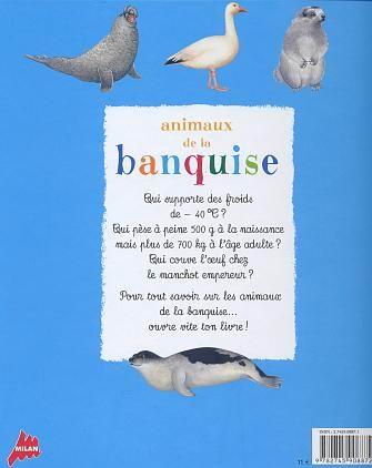 Les Animaux De La Banquise : animaux, banquise, CHRISTIAN, HAVARD, FICHAUX, Animaux, Banquise, LIVRES, Renaud-Bray.com, Livres, Cadeaux