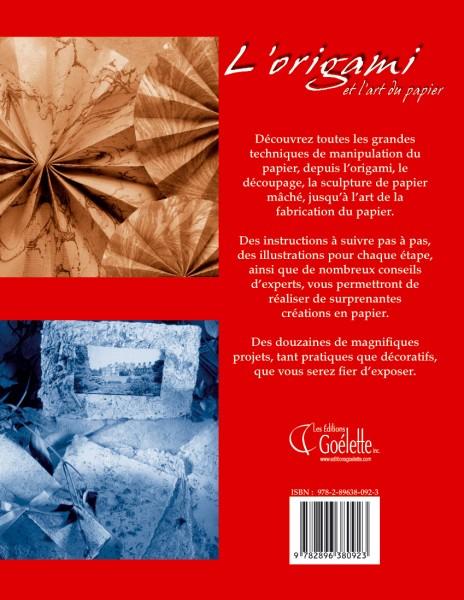 Origamis ou l'art du pliage du papier : La géométrie en plis