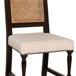 Noir Furniture Chairs Oak Pressed Back