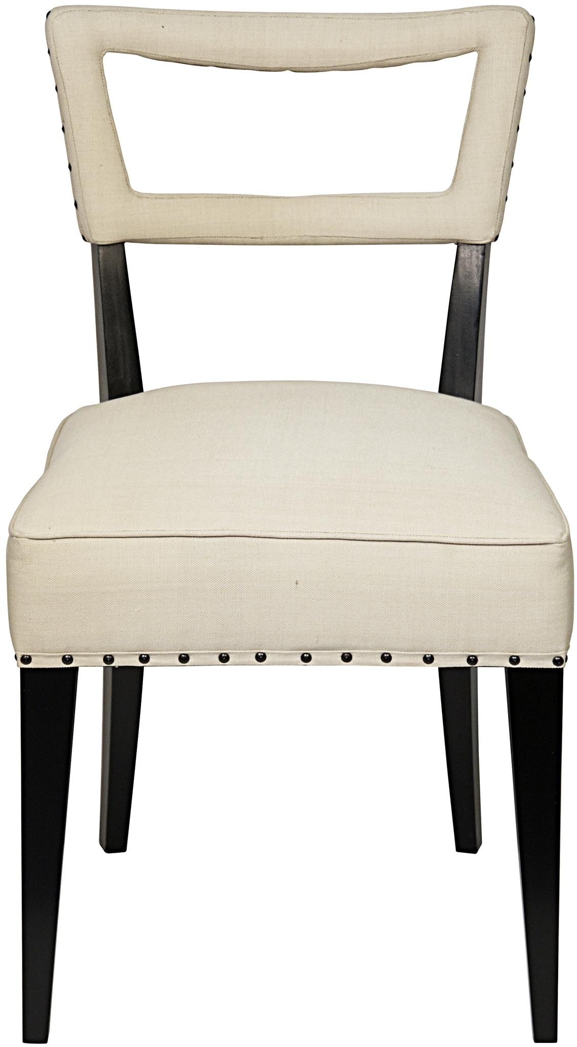 noir dining chairs folding chair rental chicago