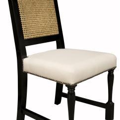 Noir Dining Chairs Steel Chair Vintage