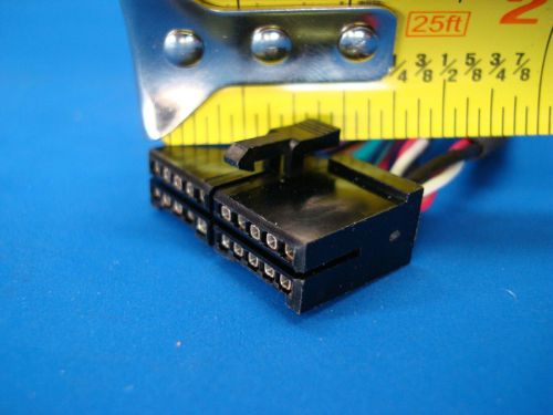 small resolution of nakamichi stereo wire harness car audio radio power plug rca cd tape cd300 20pin for sale