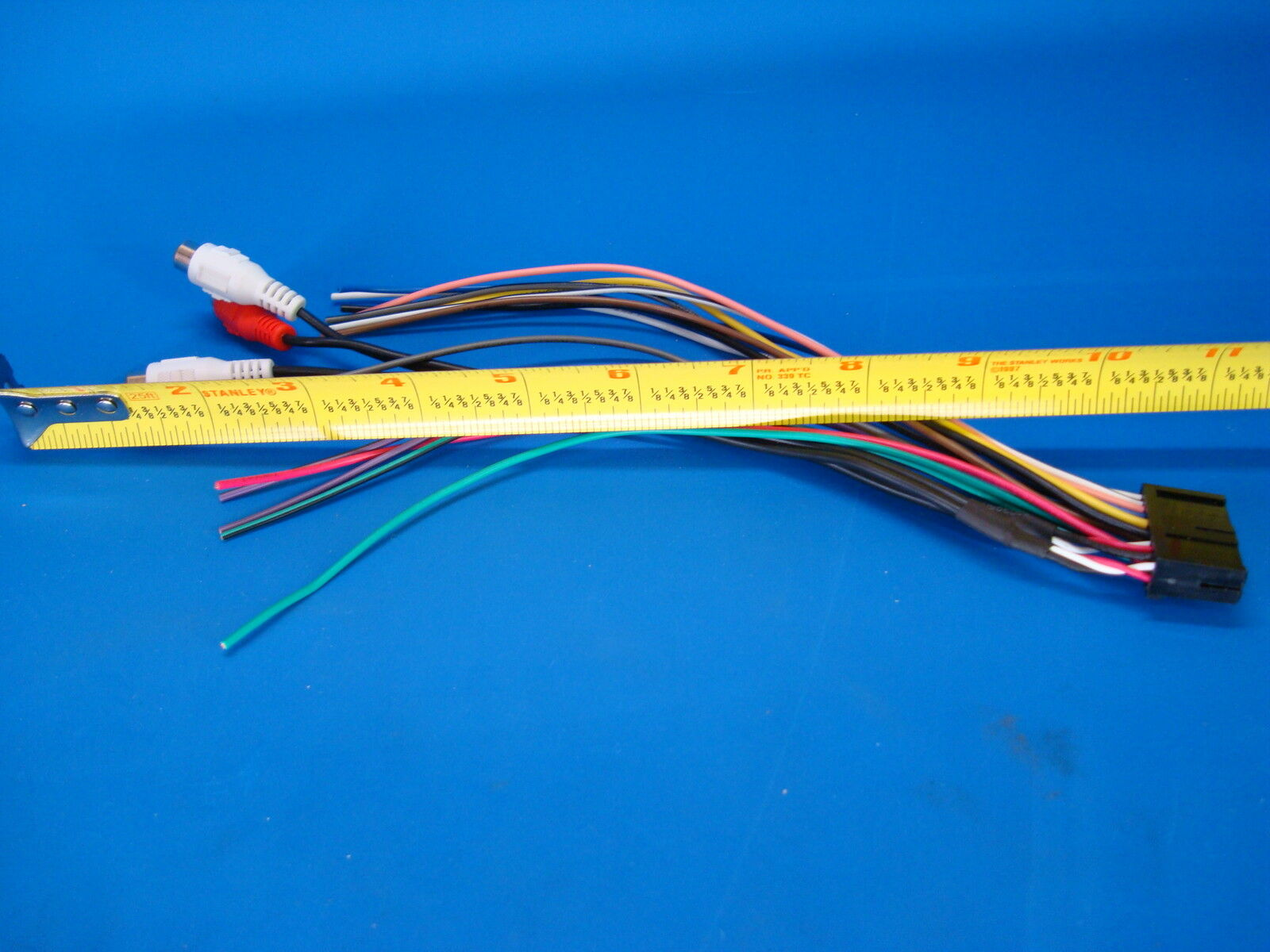 hight resolution of ssl soundstorm 20 pin radio wire harness stereo power plug back clip sd710 for sale