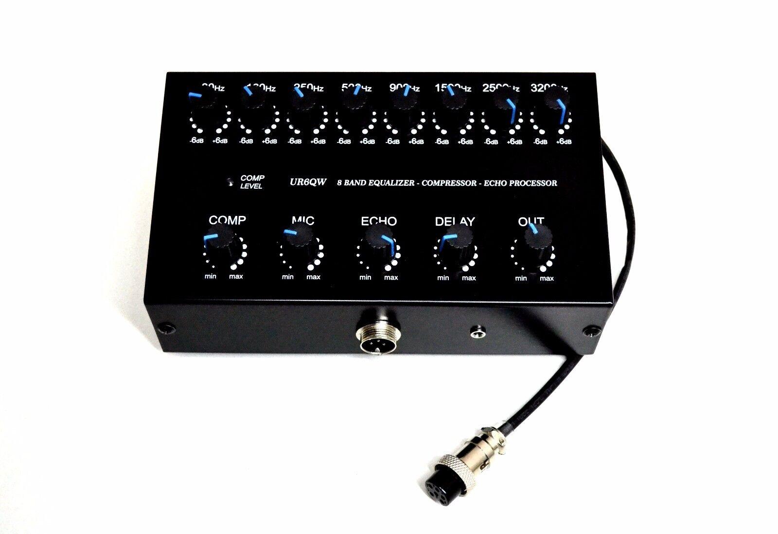 hight resolution of 8 band sound equalizer echo compressor to ranger rci 2950 2970 2995 cb radio for sale