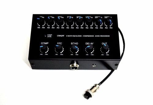 small resolution of 8 band sound equalizer echo compressor to ranger rci 2950 2970 2995 cb radio for sale